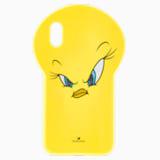 Étui pour smartphone Looney Tunes Titi, iPhone® XR, jaune - Swarovski, 5507271