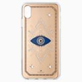 Tarot Eye Smartphone Case, iPhone® XS Max, Pink Gold - Swarovski, 5507388