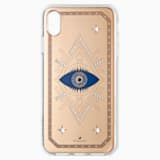 Tarot Eye Smartphone Case, iPhone® XS Max, Pink Gold - Swarovski, 5507388