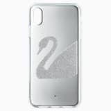 Swan Smartphone Case, iPhone® XR, Gray - Swarovski, 5507390