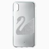 Étui pour smartphone Swan, iPhone® XR, gris - Swarovski, 5507390