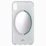 Black Baroque Smartphone Case, iPhone® XS Max, Gray - Swarovski, 5507554