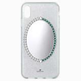Black Baroque Smartphone Case, iPhone® XS Max, Grey - Swarovski, 5507554