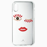 New Love Smartphone Case, iPhone® X/XS - Swarovski, 5507694