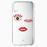 Pouzdro na chytrý telefon New Love, iPhone® X/XS - Swarovski, 5507694