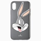 Funda para smartphone Looney Tunes Bugs Bunny, iPhone® XR, gris - Swarovski, 5507776