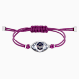 Bracelet Swarovski Power Collection Evil Eye, violet, acier inoxydable - Swarovski, 5508534