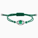 Swarovski Power Collection Evil Eye Браслет, Зеленый Кристалл, Нержавеющая сталь - Swarovski, 5508535