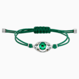 Swarovski Power Collection Evil Eye Bracelet, Green, Stainless steel - Swarovski, 5508535