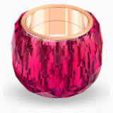 Anello Swarovski Nirvana, rosso, PVD tonalità oro rosa - Swarovski, 5508719