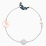 Swarovski Remix Collection Moon Strand, Multi-colored, Mixed metal finish - Swarovski, 5509664