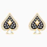 Boucles d'oreilles clous Tarot Magic, multicolore, Métal doré - Swarovski, 5510528