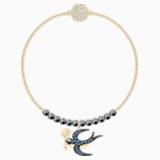 Swarovski Remix Collection Swallow Strand, Multi-colored, Gold-tone plated - Swarovski, 5511085