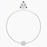 Bracelet Polar Bestiary, blanc, Métal rhodié - Swarovski, 5511102