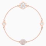 Swarovski Remix Collection Snowflake Strand, Белый Кристалл, Покрытие оттенка розового золота - Swarovski, 5512038