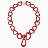 Collar Tigris Statement, rojo, Baño de Paladio - Swarovski, 5512353