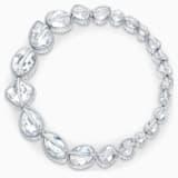 Collar Spectrum Shine, blanco, baño de rodio - Swarovski, 5512467
