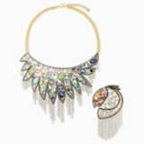 Shimmering Комплект, Мультицветный темный Кристалл, Отделка из разных металлов - Swarovski, 5512570