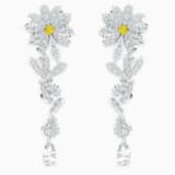 Orecchini Eternal Flower, giallo, mix di placcature - Swarovski, 5512655