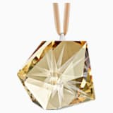 Daniel Libeskind Frosted Star Ornament, Golden - Swarovski, 5514534