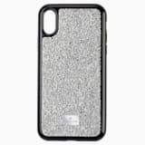 Glam Rock Smartphone 套, iPhone® XS Max, 银色 - Swarovski, 5515013