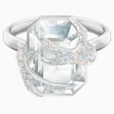 Pierścionek koktajlowy Polar Bestiary, wielokolorowy, powlekany rodem - Swarovski, 5515093