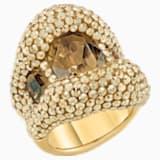 Tigris Cocktail Ring, Gold tone, Gold-tone plated - Swarovski, 5515315