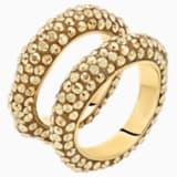 Tigris Комплект колец, Оттенок золота Кристалл, Покрытие оттенка золота - Swarovski, 5515364
