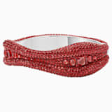 Tigris Bangle, Red, Palladium plated - Swarovski, 5515367