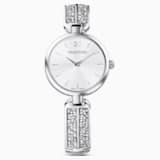 Montre Dream Rock, bracelet en métal, ton argenté, acier inoxydable - Swarovski, 5519309