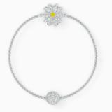 Řetízek s květinou z kolekce Swarovski Remix, bílý, rhodiovaný - Swarovski, 5520651