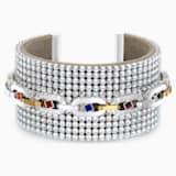 Manchette Spectacular, multicolore sombre, finition mix de métal - Swarovski, 5521027