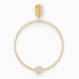 Swarovski Remix Collection Shell Strand, 白色, 镀金色调 - Swarovski, 5521347