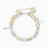 Bracelet So Cool Chain, blanc, finition mix de métal - Swarovski, 5521686