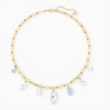 So Cool charm nyaklánc, fehér, vegyes fémbevonattal - Swarovski, 5522860