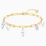 Bransoletka z przywieszką So Cool, biała, różnobarwne metale - Swarovski, 5522861