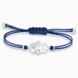 Bransoletka z kolekcji Swarovski Power z motywem dłoni Hamsa, niebieska, stal nierdzewna - Swarovski, 5523154