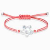 Pulsera Swarovski Power Collection Flower, rojo, acero inoxidable - Swarovski, 5523170