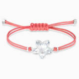 Pulsera Swarovski Power Collection Flower, rojo, acero inoxidable - Swarovski, 5523170