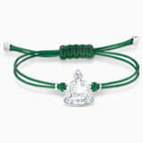 Swarovski Power Collection Buddha 手链, 绿色, 不锈钢 - Swarovski, 5523173