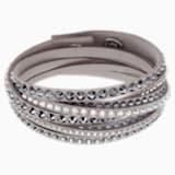 Slake Deluxe Bracelet, Grey - Swarovski, 5524009