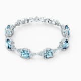 Sparkling Браслет, Голубой Кристалл, Родиевое покрытие - Swarovski, 5524142