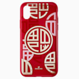 Full Blessing Fu Smartphone Case with Bumper, iPhone® X/XS, Red - Swarovski, 5526480