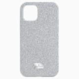 Pouzdro na chytrý telefon High, iPhone® 11 Pro, stříbrné - Swarovski, 5531146