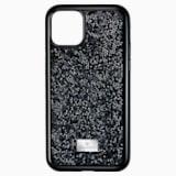 Glam Rock okostelefon tok, iPhone® 11 Pro, fekete - Swarovski, 5531147