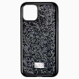 Pouzdro na chytrý telefon Glam Rock, iPhone® 11 Pro, černé - Swarovski, 5531147