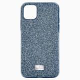 Etui na smartfona High, iPhone® 11 Pro Max, niebieskie - Swarovski, 5531148