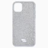 High-smartphone-hoesje, iPhone® 11 Pro Max, zilverkleurig - Swarovski, 5531149