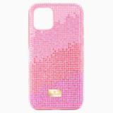 Pouzdro na chytrý telefon High Love, iPhone® 11 Pro, růžové - Swarovski, 5531151