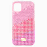 High Love Smartphone Case, iPhone® 11 Pro Max, Pink - Swarovski, 5531152